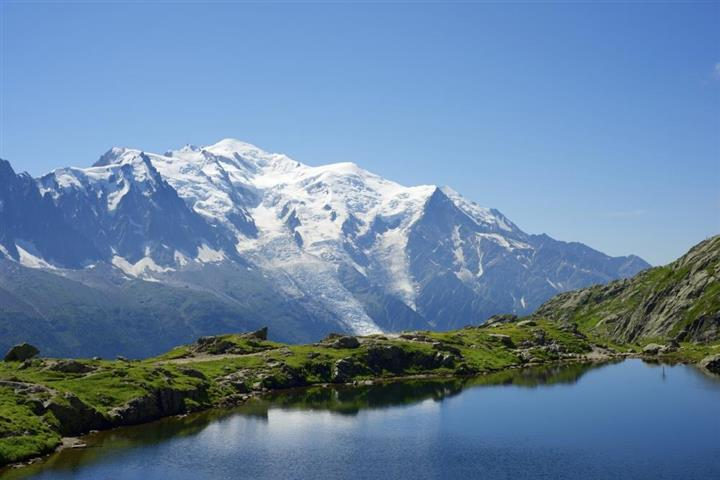 The Mont-Blanc, French Alps