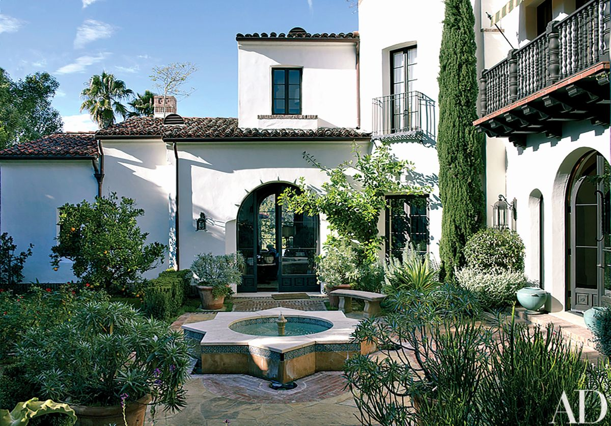 Spanish style house decor