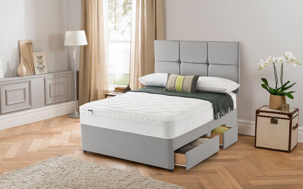 Silentnight Rio Miracoil Cushion Top Divan