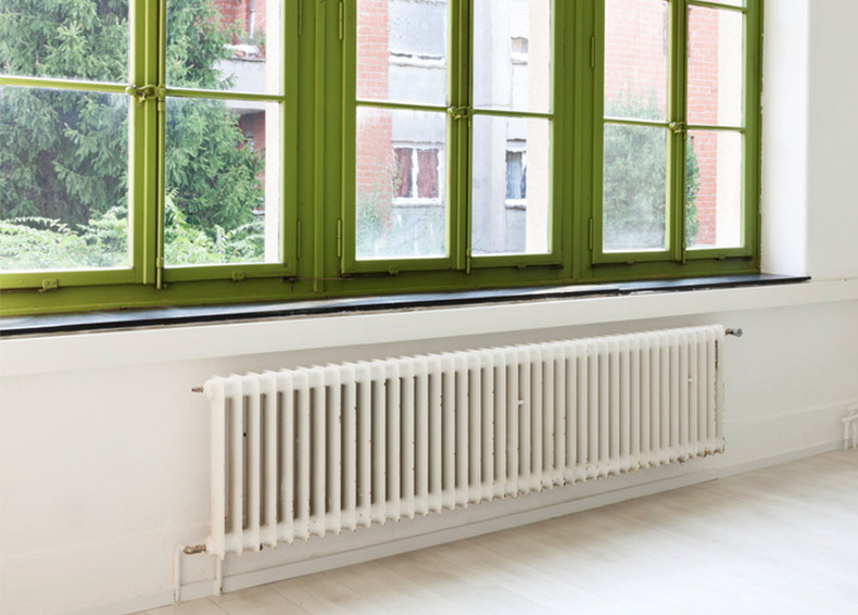 why-are-radiators-under-windows?